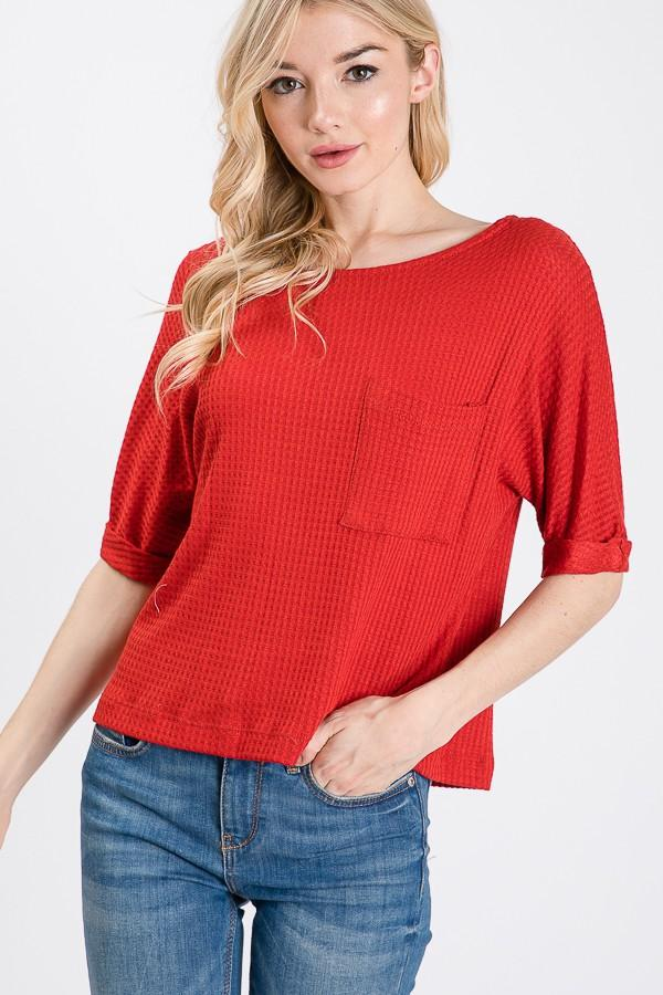 Christy Pocket Top - SexyModest Boutique
