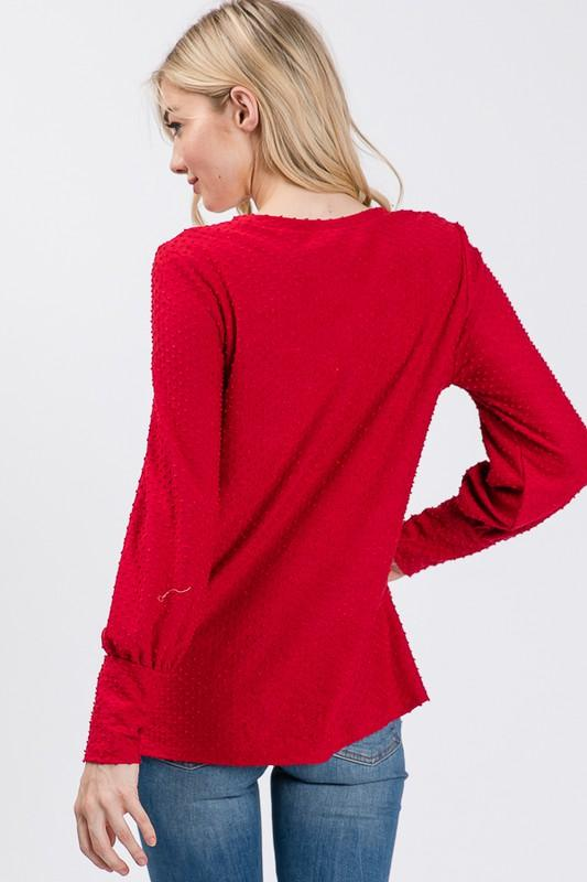 Tabitha Long Sleeve Top - SexyModest Boutique
