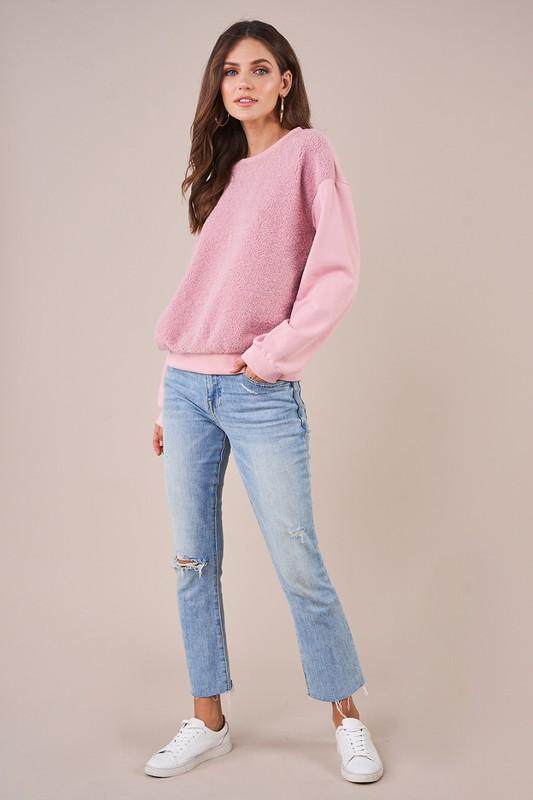 Teddy Sweatshirt - SexyModest Boutique