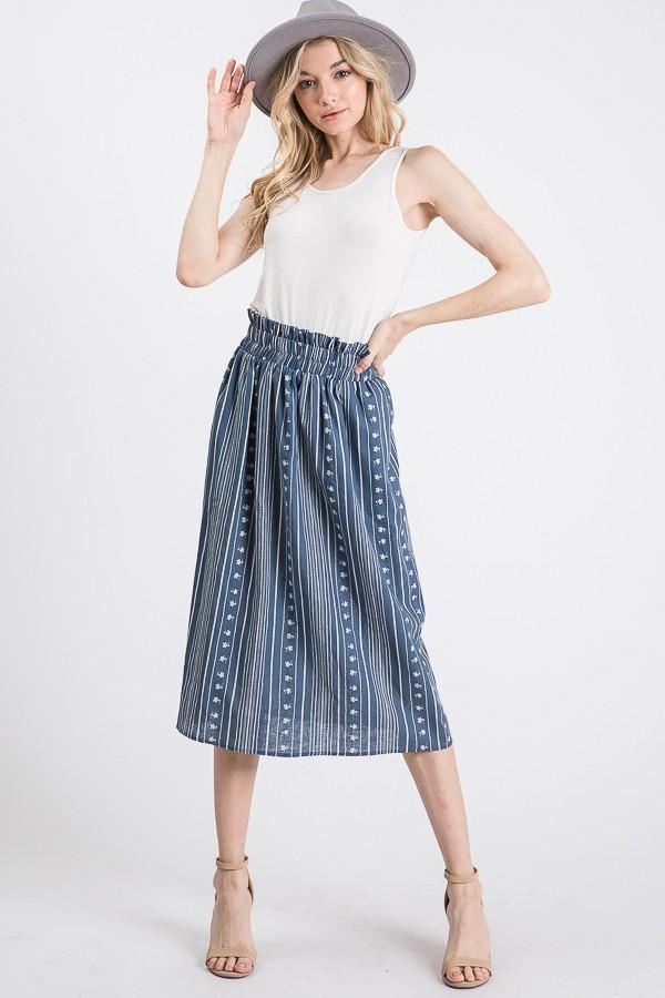 Jennie Midi Skirt - SexyModest Boutique