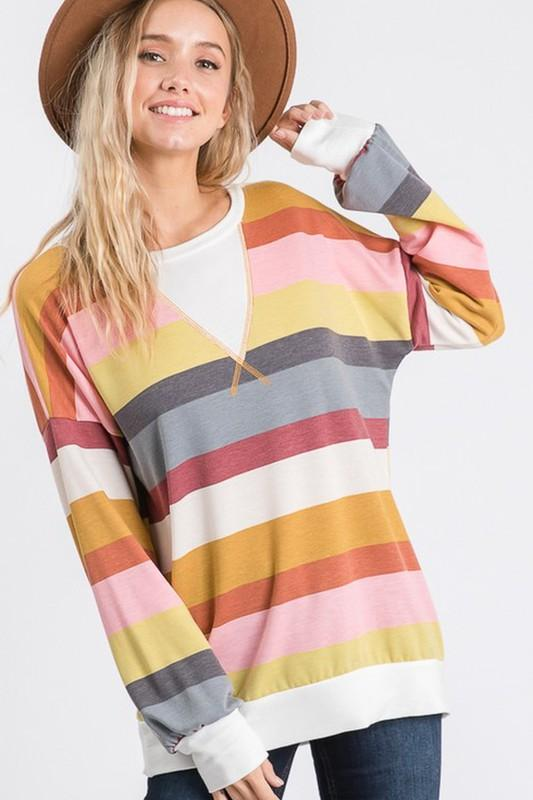 Kelly Stripe Top