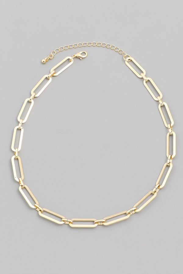 Oval Chain Choker - SexyModest Boutique