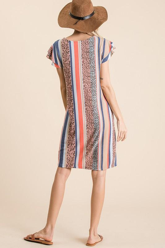 Gina Midi Dress - SexyModest Boutique