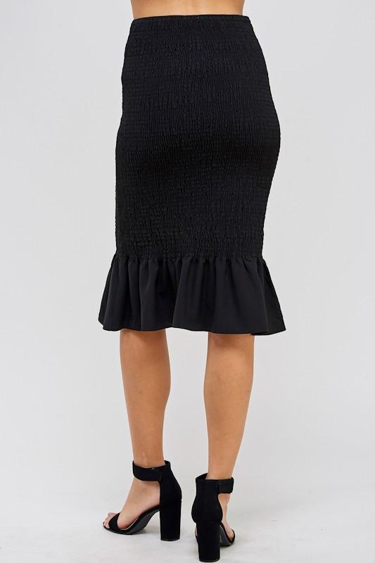 Dianne Smocked Skirt - SexyModest Boutique