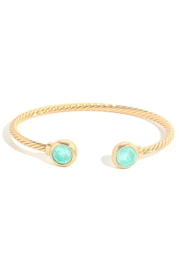 Studded Gem Cuff Bracelet - SexyModest Boutique
