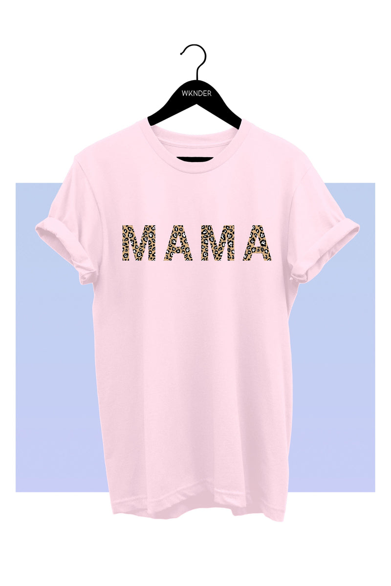 Mama Leopard Tee - SexyModest Boutique