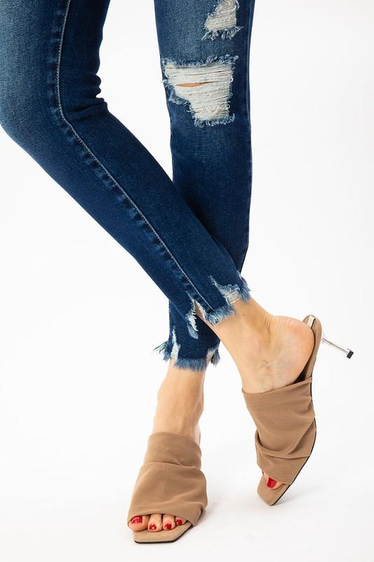 Anna Distressed Jeans - SexyModest Boutique