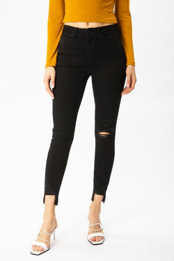 Andrea High Rise Ankle Skinny - SexyModest Boutique