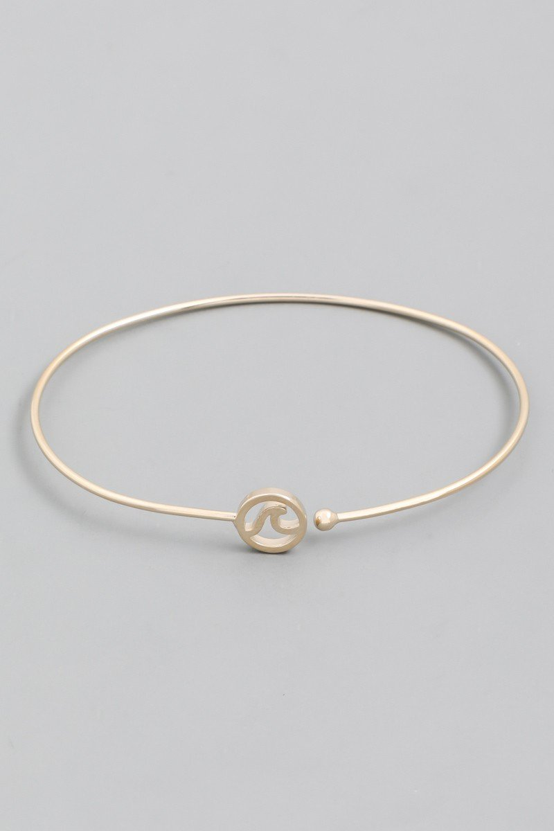 Dainty Wave Bracelet - SexyModest Boutique