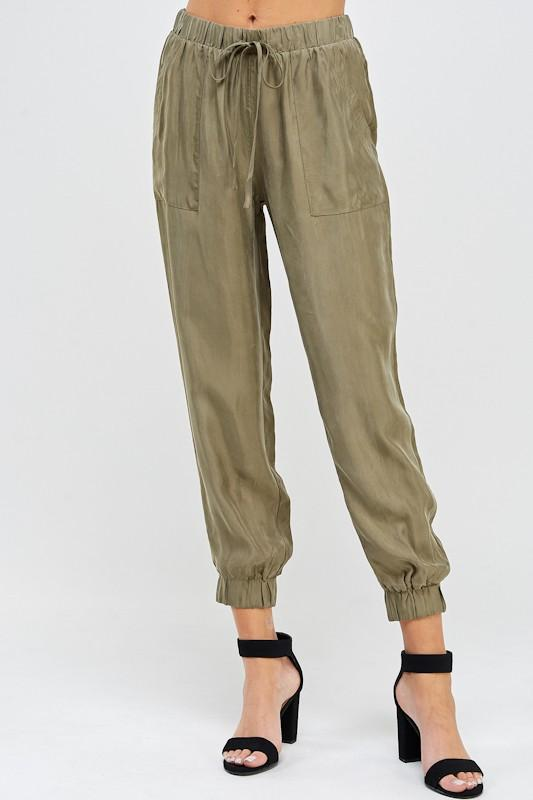 Krista Satin Pant - SexyModest Boutique