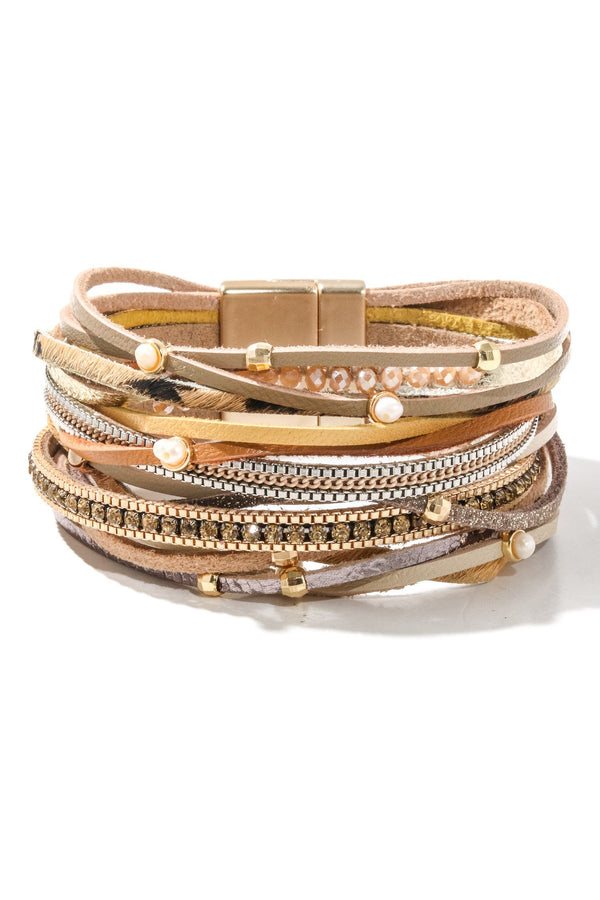 Multi Strand Magnetic Bracelet - SexyModest Boutique
