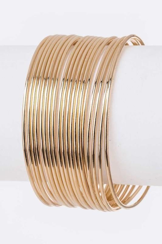Iconic Metal Bangle