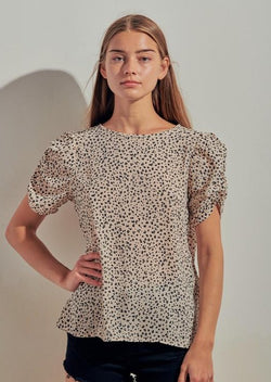 Payton Animal Print Blouse