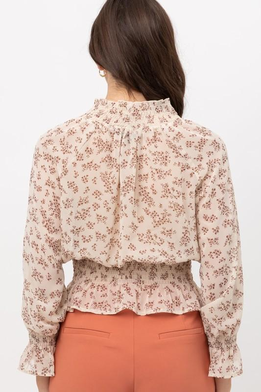 Emmy Floral Printed Top