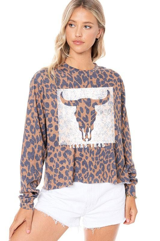 Texas Graphic Top