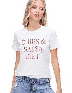 Chips & Salsa Diet Graphic Tee