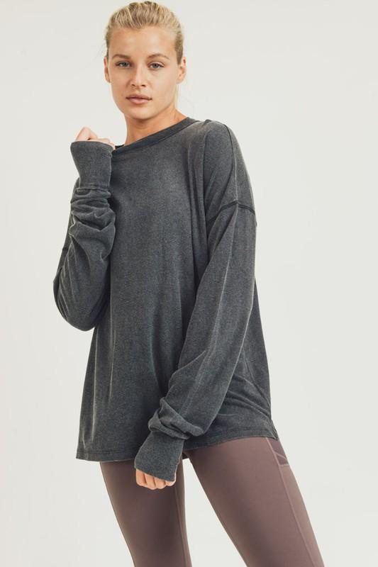 Kirily High-Low Sweater