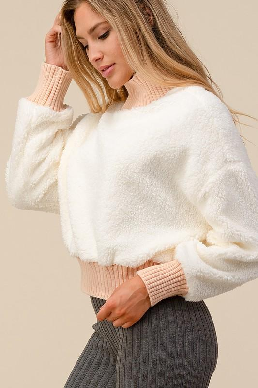 Abigail Fleece Sweater