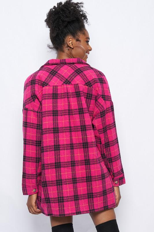 Rowan Plaid Jacket