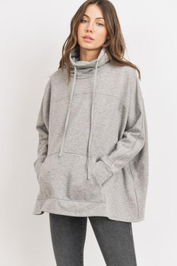Bianca Turtleneck Sweatshirt