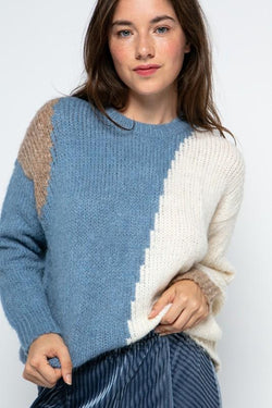Scout Color Block Sweater