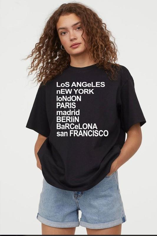 Destinations Graphic Tee
