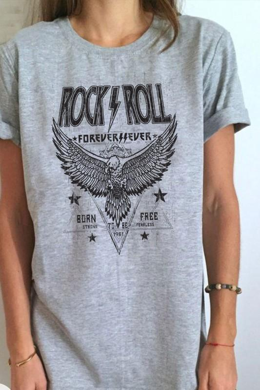 Rock Forever Graphic Tee