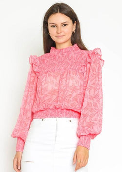 Nialey Smocked Blouse