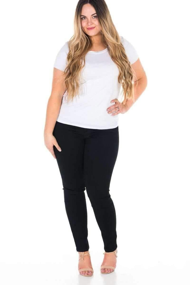 Brigitte Brianna Favorite Basic Tee - SexyModest Boutique