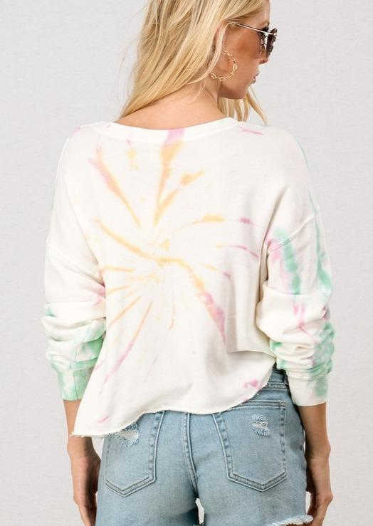 Bella Cropped Sweatshirt