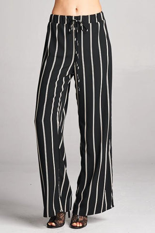Up-Town Striped Pants - SexyModest Boutique