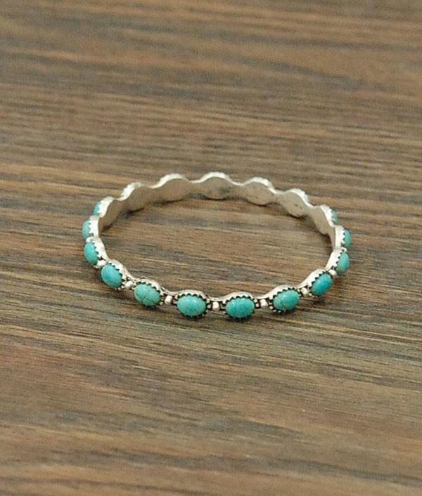 Turquoise Bangle Bracelet - SexyModest Boutique