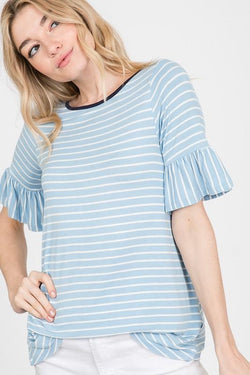 Oaklee Stripe Top