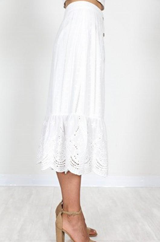 Seaside Lace Skirt - SexyModest Boutique