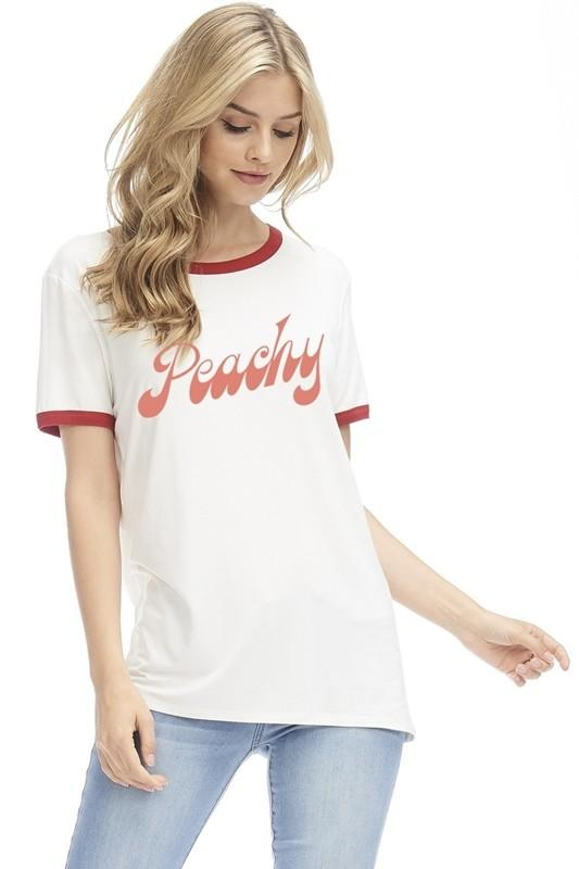 Peachy Tee - SexyModest Boutique