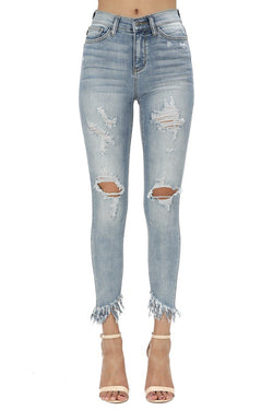 Remy High Waisted Jeans - SexyModest Boutique