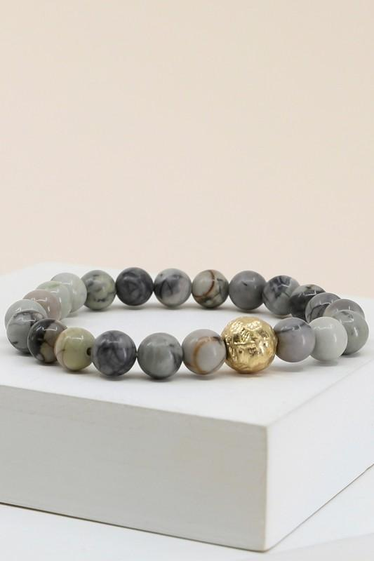 Marbled Bead Bracelet - SexyModest Boutique