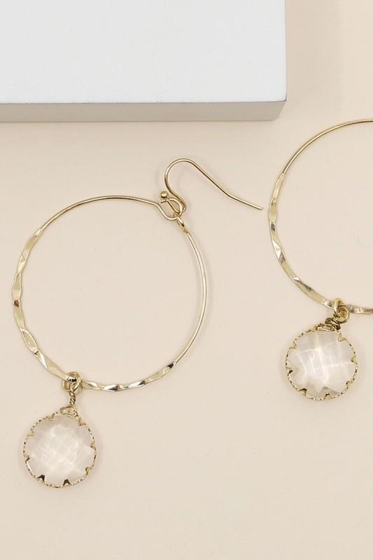 Stone Earrings - SexyModest Boutique