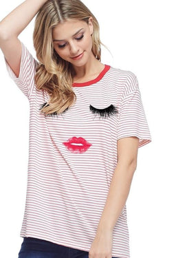 Lash Me Pretty Tee - SexyModest Boutique