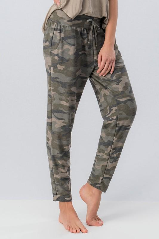 Sweet Dreams Camo Sweats - SexyModest Boutique