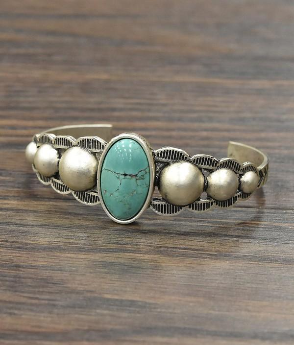 Turquoise Cuff Bracelet - SexyModest Boutique