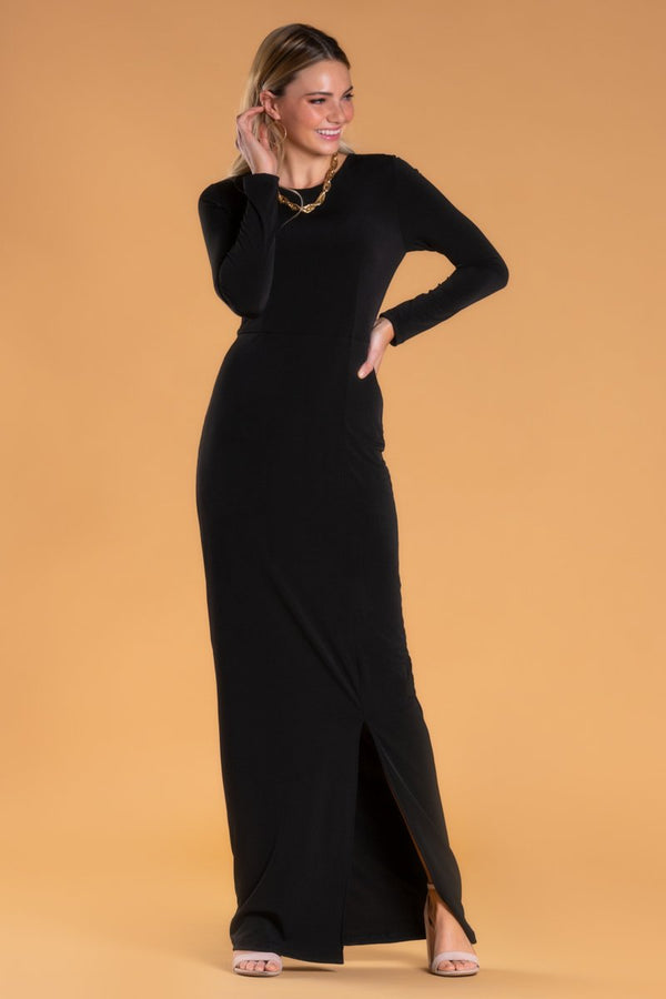Brigitte Brianna Black Tie Event Dress by SexyModest Boutique
