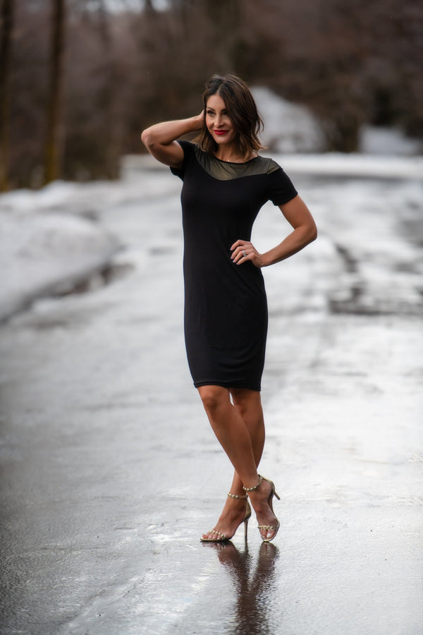 Brigitte Brianna Night Out Dress - SexyModest Boutique