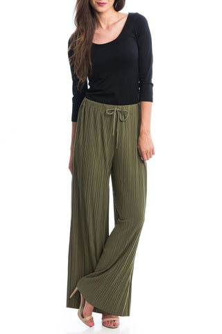 Izabel Pleated Pants