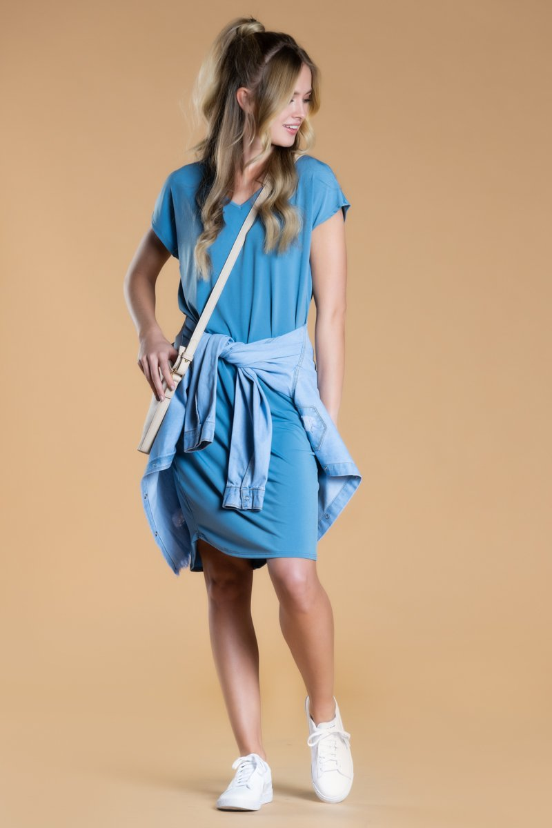 Brigitte Brianna Day-to-Day Pocket Dress