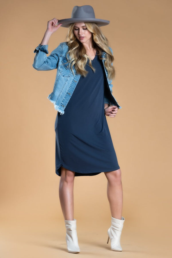 Brigitte Brianna Day-to-Day Pocket Dress by SexyModest Boutique