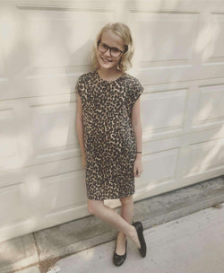 Kids Wild Side Pocket Tee Dress - SexyModest Boutique