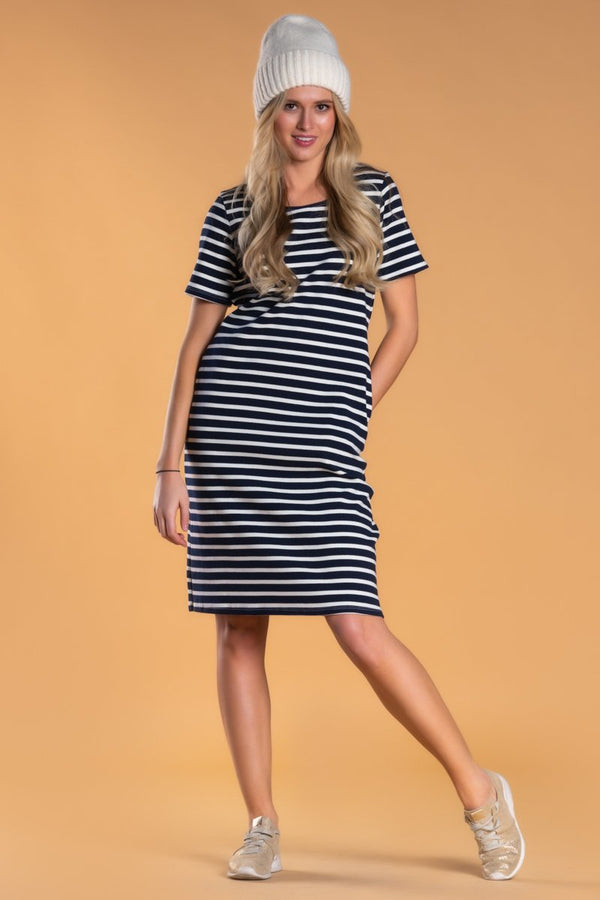 Brigitte Brianna Sailor Dress by SexyModest Boutique