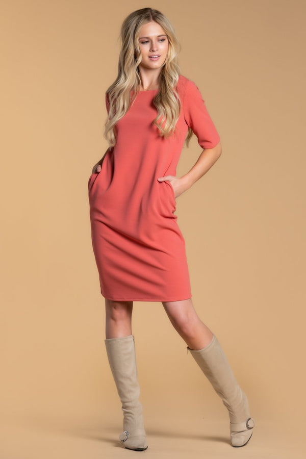 Brigitte Brianna Shift Dress by SexyModest Boutique