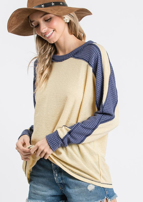 Ivy Color Block Long Sleeve